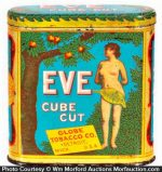 Eve Cube Cut Tobacco Tin