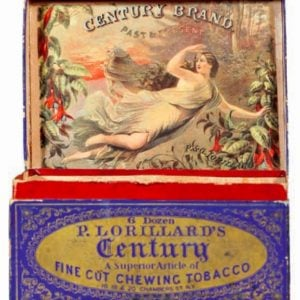 Century Chewing Tobacco Box