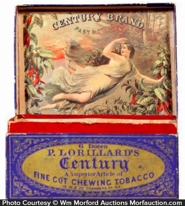 Century Chewing Tobacco Box