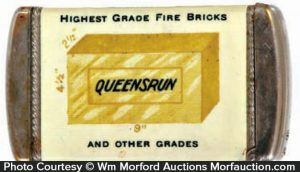 Queensrun Bricks Match Safe