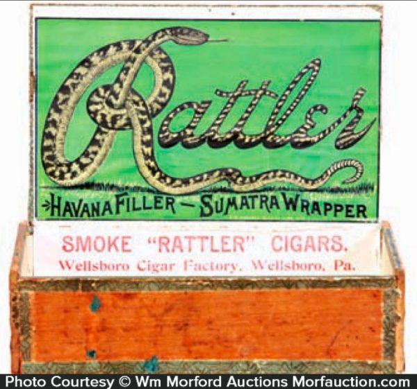 Rattler Cigar Box
