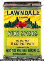Lawndale Spice Tin