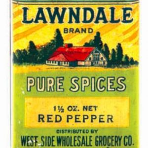 Lawndale Spice Tin