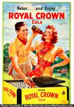 Royal Crown Soda Sign