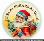 Frears Santa Mirror