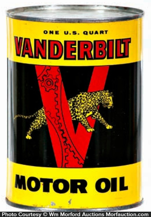 Vanderbilt Oil Can