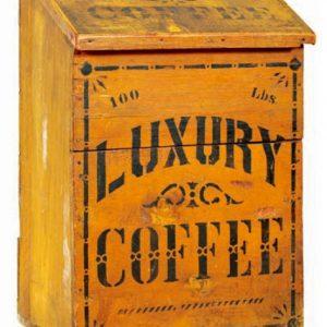 Luxury Coffee Bin