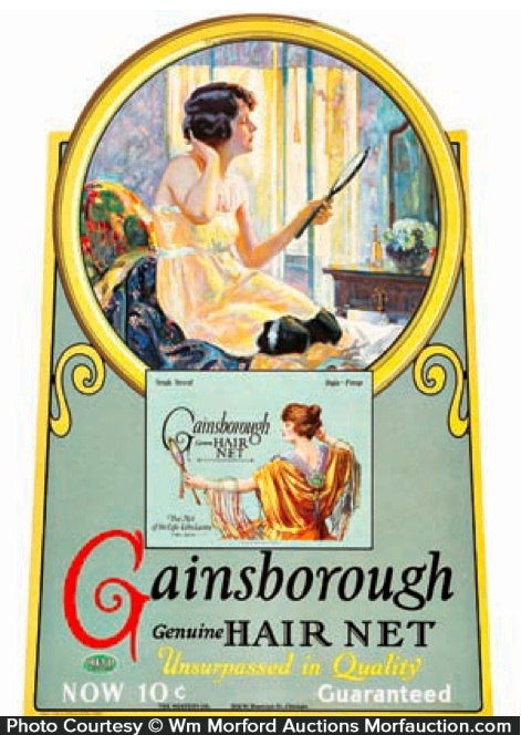 Gainsborough Hair Nets Sign