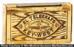 El Telegrafo Cigars Match Safe