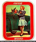 1942 Coca-Cola Tray