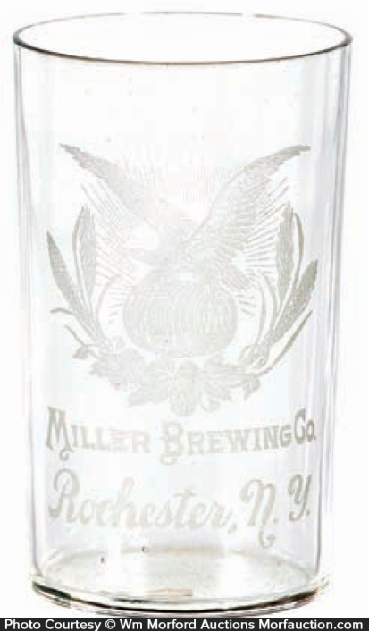 Vintage Miller Brewing Co. Glass