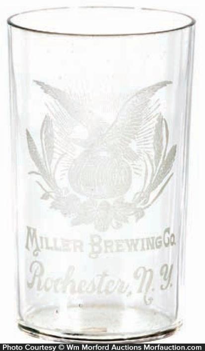 Vintage Miller Brewing Co. Glass