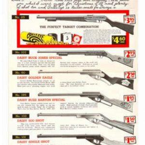 Daisy Air Rifles Sign