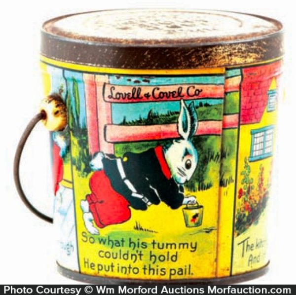 Lovell & Covel Candy Pail