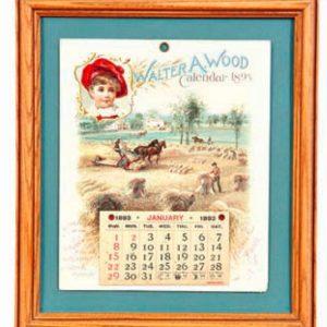 Walter Wood Calendar