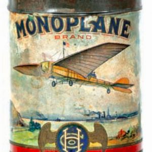 Monoplane Cigar Tin