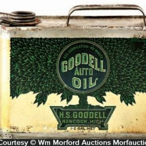 Goodell Motor Oil Can