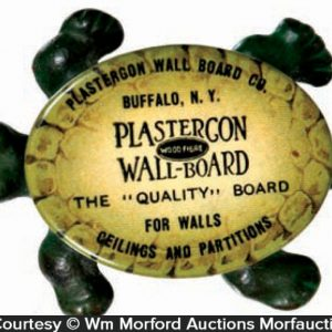 Celluloid Advertising Turtle
