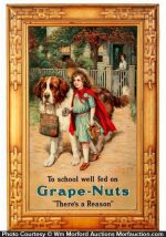 Grape Nuts Sign
