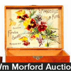 Vintage Seed Boxes