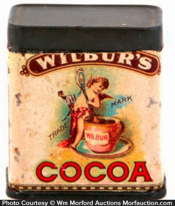 Wilbur's Cocoa Sample Tin