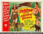 Tarzan and The Leopard Woman Lobby Card