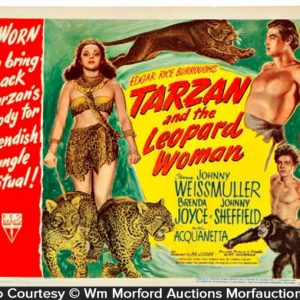Tarzan and The Leopard Woman Lobby Card