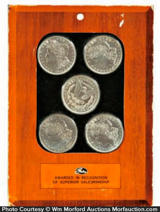 Silver Dollars Award