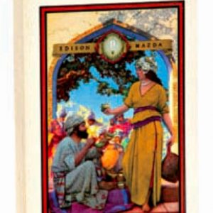 Maxfield Parrish Lamp Seller Playing Cards