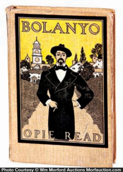 Opie Read Bolanyo Book