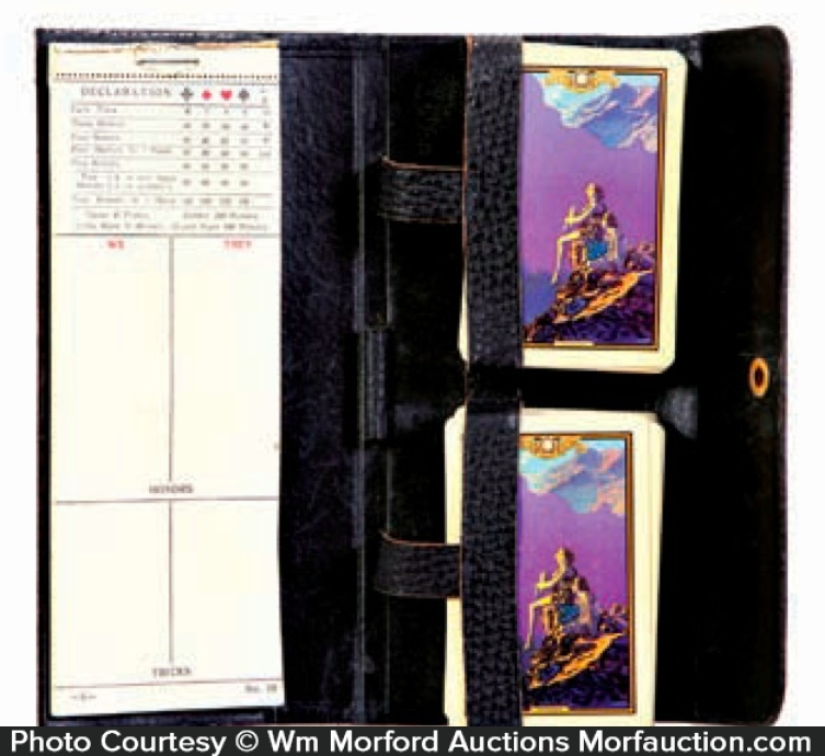 Maxfield Parrish Contentment Playing Cards