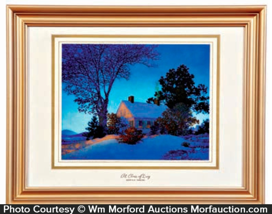 Maxfield Parrish At Close Of Day