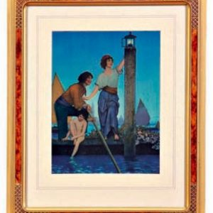 Maxfield Parrish Small Venetian Lamplighter