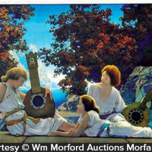 Maxfield Parrish Lute Players Art Print