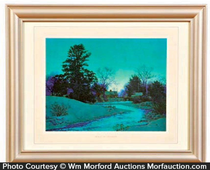 Maxfield Parrish Peace At Twilight (Lull Brook)