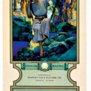 Maxfield Parrish Dream Light Calendar