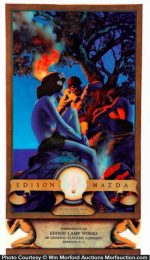 Maxfield Parrish Primitive Man Ad