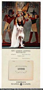 Maxfield Parrish Egyptian Priestess Calendar