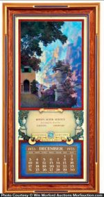 Maxfield Parrish Small Sunrise Calendar