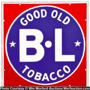 Bl Tobacco Sign