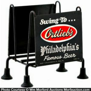 Ortlieb's Philadelphia Beer Napkin Holder