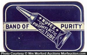 Nutex Prophylactic Tube Tin