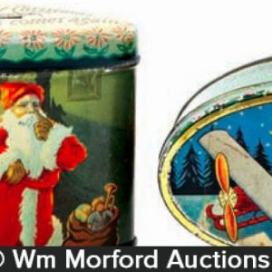 Woolworths Candy Christmas Tins