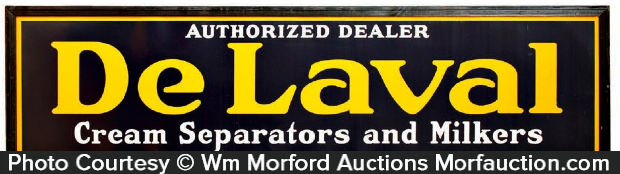 De Laval Cream Separators Sign