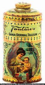 Vantine Talcum Tin