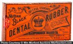 Nubian Black Dental Rubber Tin