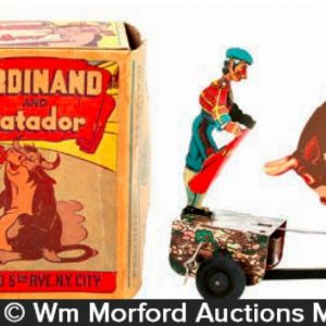 Ferdinand and Matador Bull Toy