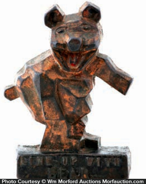 Bear Automotive Paperweight