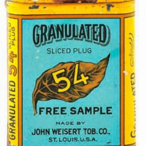 Granulated 54 Sample Tobacco Tin
