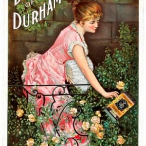 Duke Of Durham Cigarettes Sign